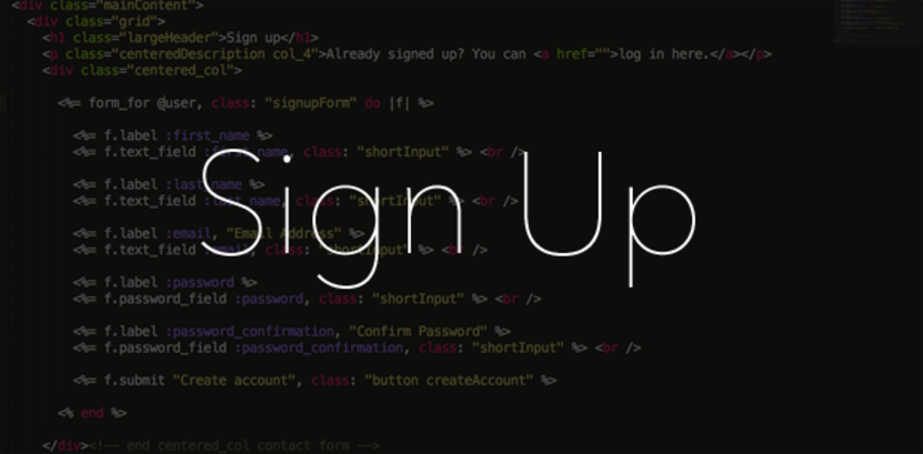 How to build a simple email sign up form with Ruby on Rails